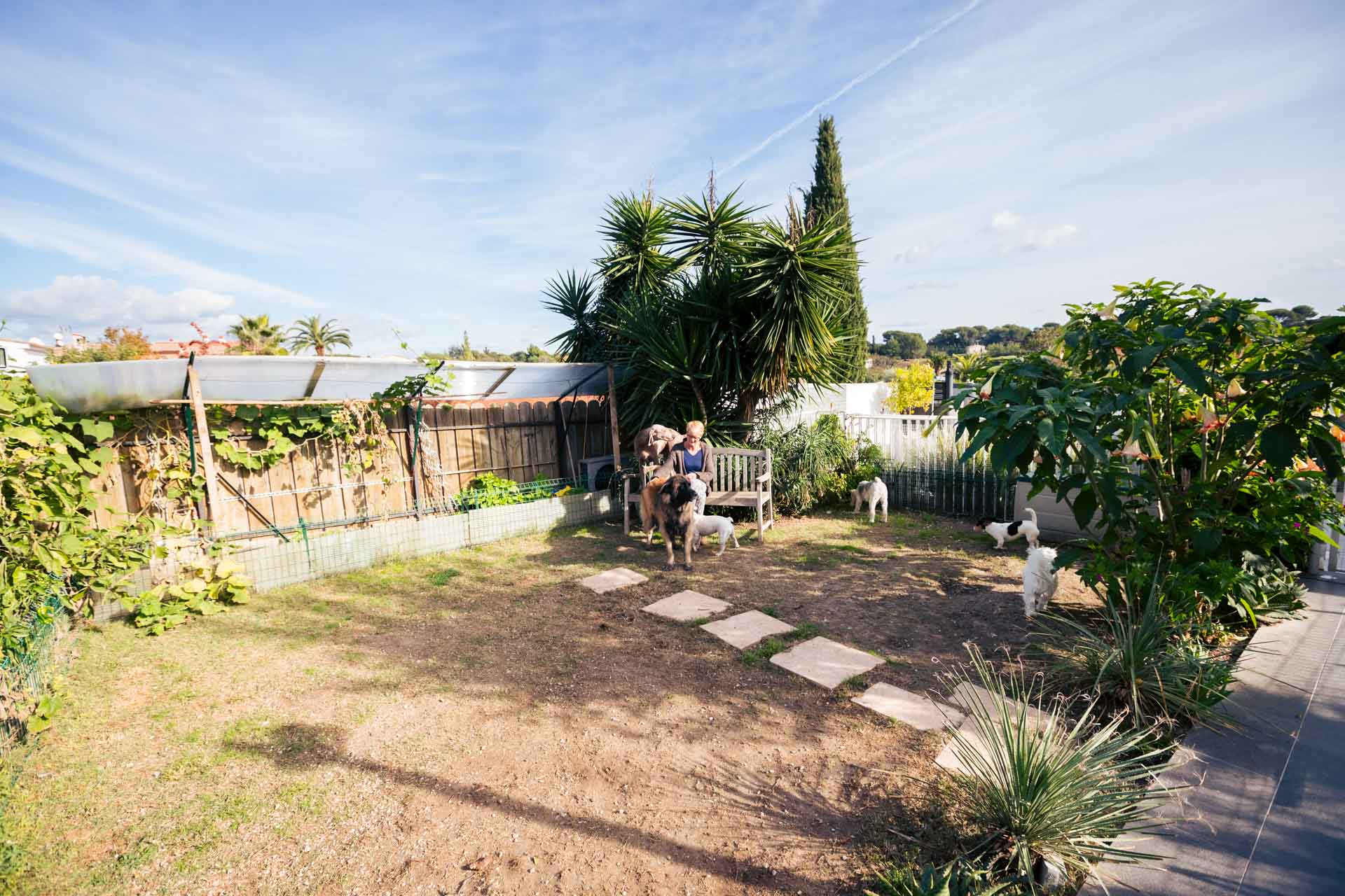 pension des cabots jardin